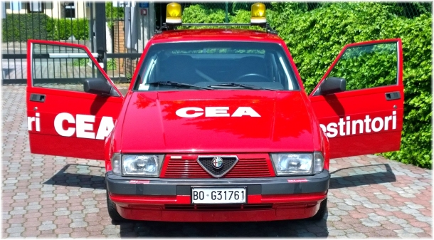 Alfa Romeo 75 - CEA Squadra Corse